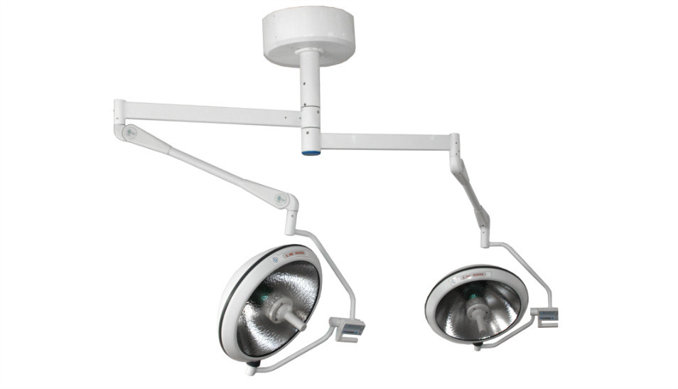 Camera built-out halogen operating lamp