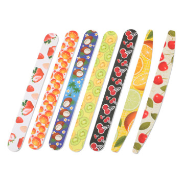 Colorful EVA Material Nail File for Nail Salon