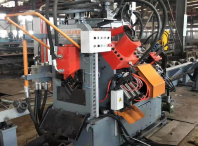 CNC Angle Iron Steel Punching Shearing Line
