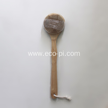 Dry Skin Vegan Bamboo Body Shower Brush