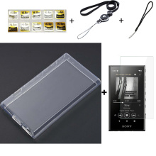 Soft Clear TPU Protective Skin Case Cover For Sony Walkman NW-A100 A105 A105HN A106 A106HN A107 A100TPS