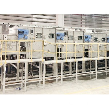 Custom Continuous Bleaching Scouring Washing Machine