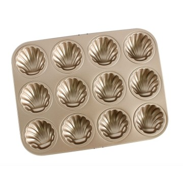 12 Cavity Madeleine Shell Baking Pan