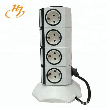 100V-240V 2-USB 4-Layers Power Strip
