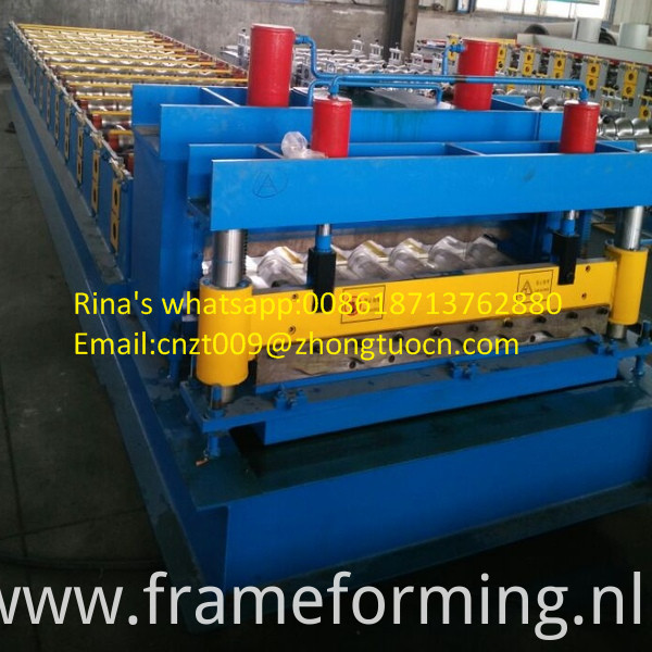 steel sheet roof sheet roll forming machine line 15