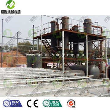 Waste Tyre Pyrolysis Oil Process Batch Reactor