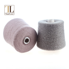 Topline brushed 80% cashmere nylon felt fancy yarn