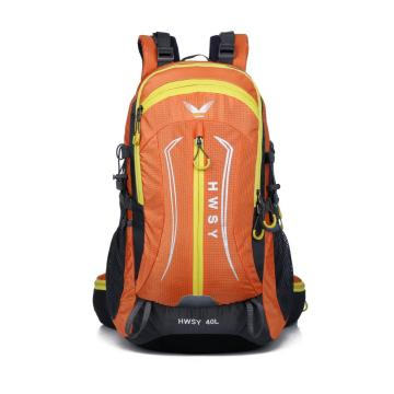Teenager nylon  cheap waterproof camping hiking bag
