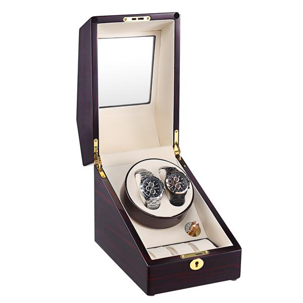 single rotation watch winder for 2+3 watches