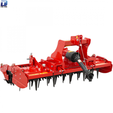 Gear driven 3-point linkage pto power rotary harrow