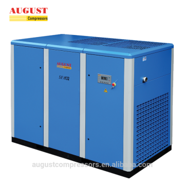 132KW 180HP stationary air cooled screw air compressor