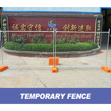 Welded Temporary Fencing Panels With Clamps