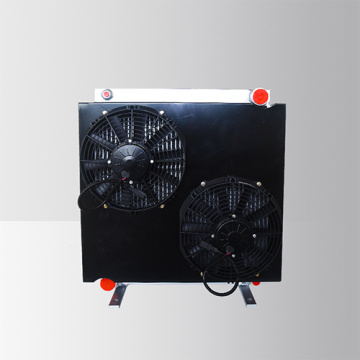 Aluminum 24V Hydraulic Fan Oil Cooler
