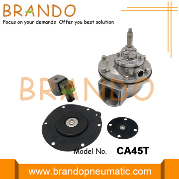 CA45T 1-1/2'' Right Angle Electromagnetic Pulse Valve