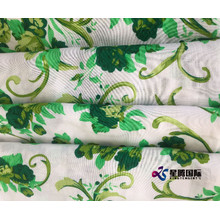 Colorful Flower Rayon Printed Fabric For Dress