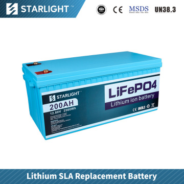 12V200AH LiFePO4 Battery  Replace Lead Acid Battery