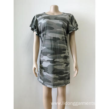 Women Summer Camouflage Dress