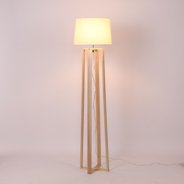 Led Wooden Standing Lamp