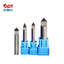 Conical engraving cutters Engraving bit PCD for aluminium