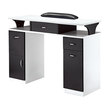 Nail Table With Vacuum For Salon