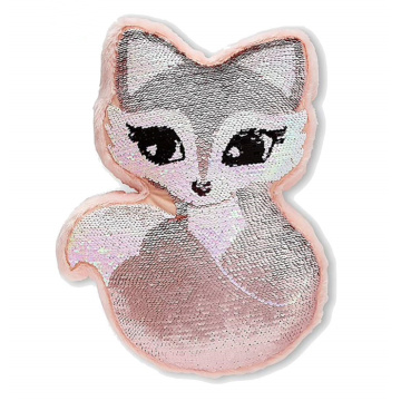 FOX FLIP SEQUIN PILLOW-0