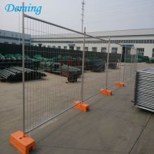 Security Australia Temporary Construction Fence Panels with Plastic Base