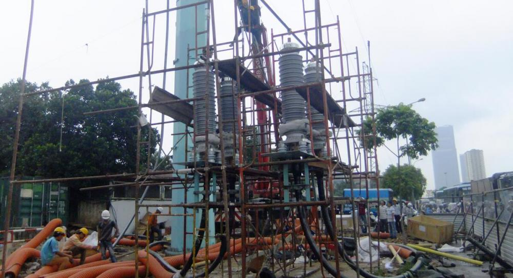 110kv 1X1200SQMM CABLE AND ACCESSORIES JOBSITE