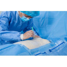 Sterile Disposable Surgical Cardiovascular Pack Drape
