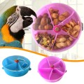 Creative Parrot Chewing Toy Bird Toy Wheel Pie Forager Puzzle Feeding Toy Children Doll Toys For Kids Girl Boy Birthday Gift