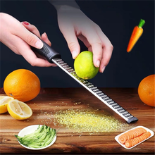 12 Inch Cheese Grater Rectangle Stainless Steel Cheese Grater Tools Chocolate Lemon Zester Fruit Peeler Kitchen Gadgets
