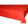 Solid Embossed Fabric Spandex Tablecloth