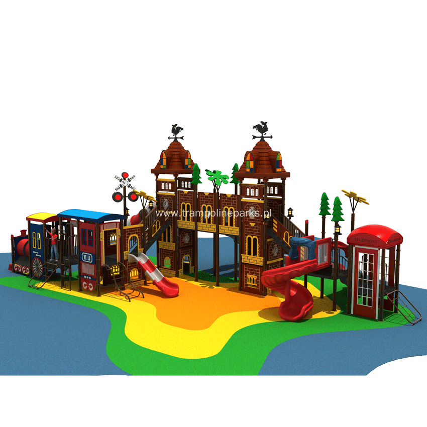 2018 Egoalplay Kids Outdoor Playground Large Play Set