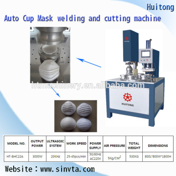 KN95 Non- Woven Dustproof Mask Making Machine