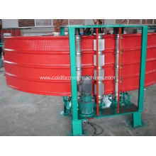 Trapezoidal Profile Galvanized Steel curving machine