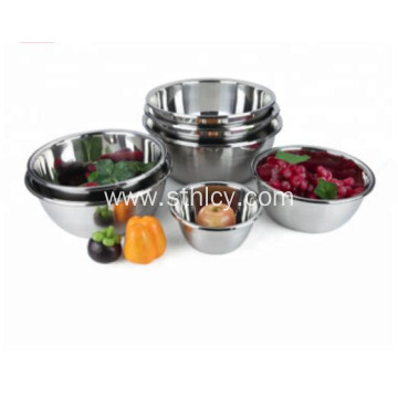 Stainless Steel Mixing Bowls Solid Bowl