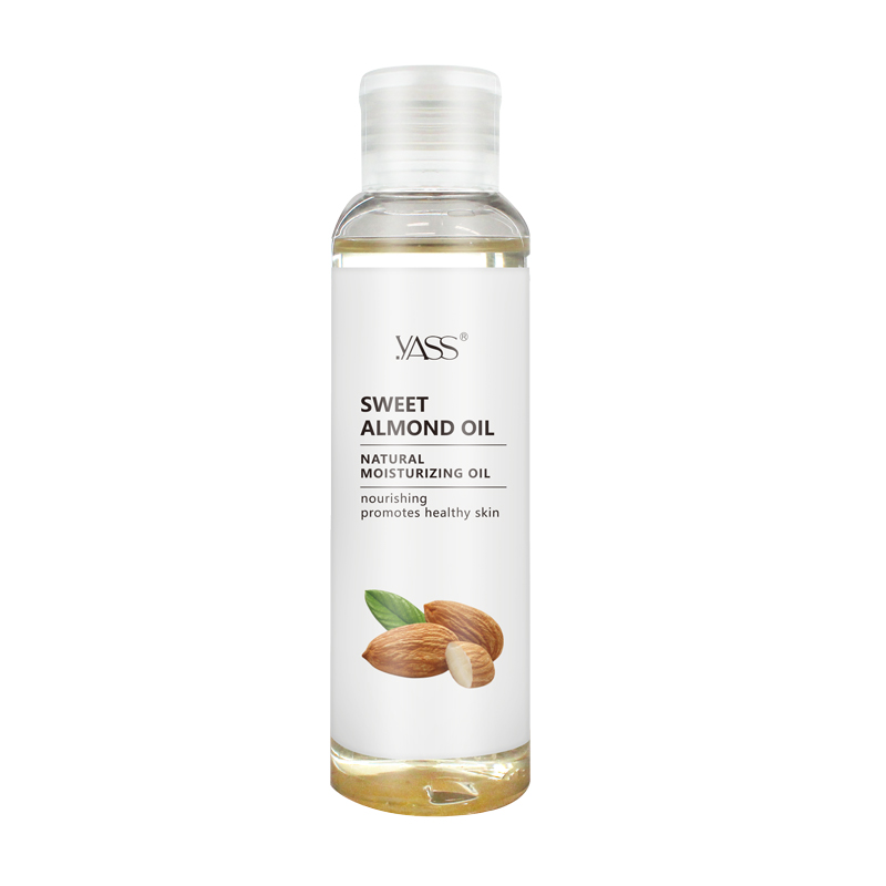 Organic Natural Sweet Almond Oil Pure Coconut Oil for Skin Body Massage Spa Oil Face Care Essential Oil Hair Treatment 100ml