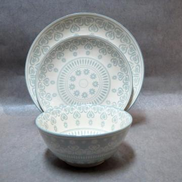 Porcelain Dinner Set Soup Plate