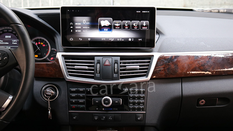 Android Benz E1012 After Installation