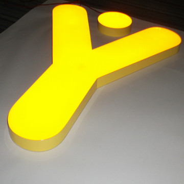 Epoxy Resin Gel Filled LED Letters Signs