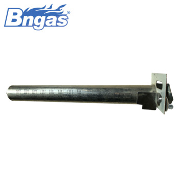 Stainless steel natural gas pipe burner for boilers