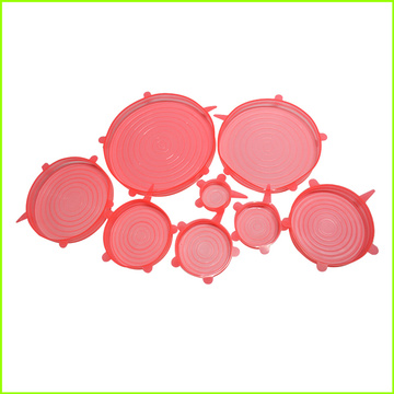 High Quality Silicone Stretch Lids