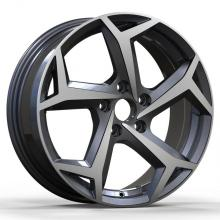Aluminium Golf Replica Rim 16X7 Gunmetal Polished