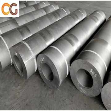 Diameter 200 mm Graphite Electrode with Nipples