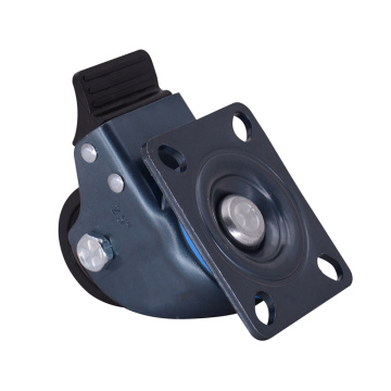 2.5 Inch Low Gravity Nylon Caster With Brake