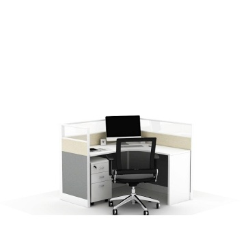 Aluminum office table partition workstation