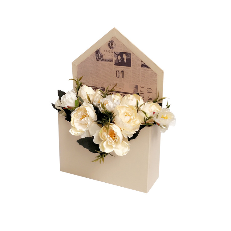Envelope shape luxury flower box