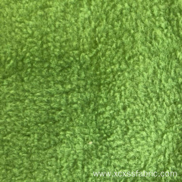 Polyester dyed solid polar fleece fabric