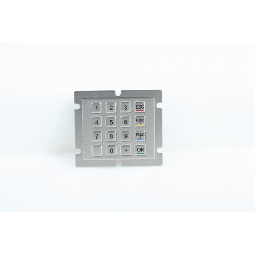 Customized Metal Button Vandal Proof Keypad