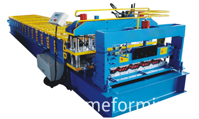 glazed tile steel roofing machine 1