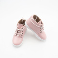 Fancy Hard Sole Baby Girl Genuine Leather Shoes